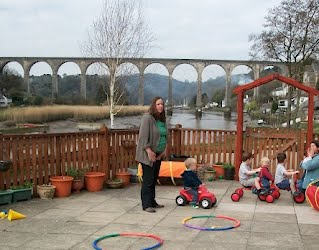 Tamar Valley Pre School Meets In Calstock Village Hall A Lovely Bright With An Outside Play Area Complete Stunning Views Towards Woodland And